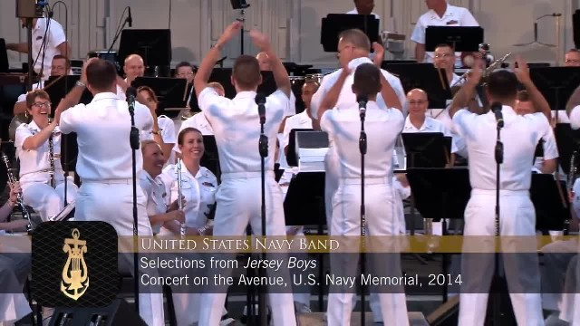 5 Navy Sailors Sing Songs From The 60s and Everybody Goes Wild