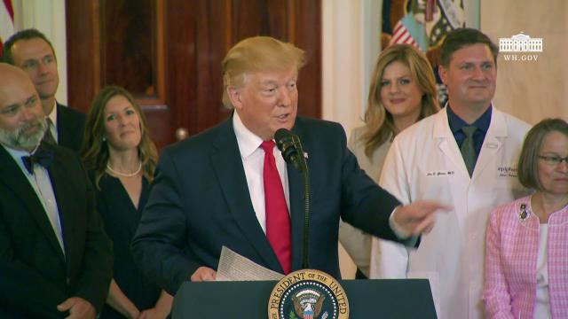 President Trump Signs an Executive Order on Improving Price and Quality Transparency in Healthcare