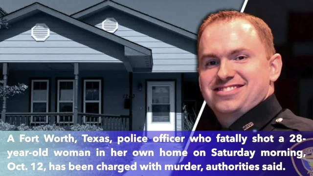 Texas police who fatally shot woman in her home arrested on murder