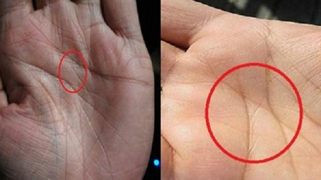 Mystery behind letter x on your palms Only three percent of people