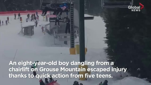 B.C. teens rescue boy dangling from skilift