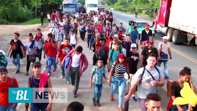 1000 Central Americans March Toward US Border, Number to Grow as President's Tariffs Loom