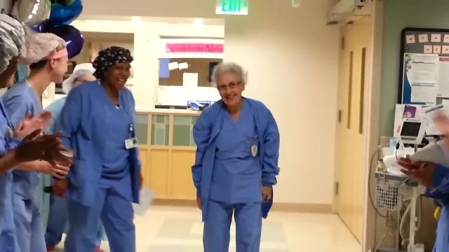 It's A Normal Day For The Oldest Nurse In America—Until She Sees THIS Down The Hallway!
