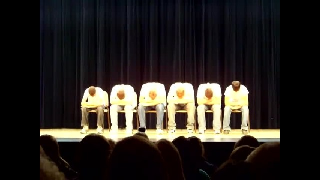 Crowd Confused When 6 Teens Line Up On Stage Until Boy On Left Snaps And Everything Changes