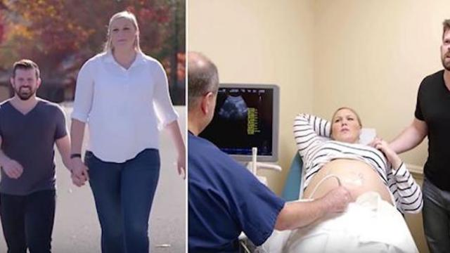 Doctors say 67 woman is too big to get pregnant only to see giant