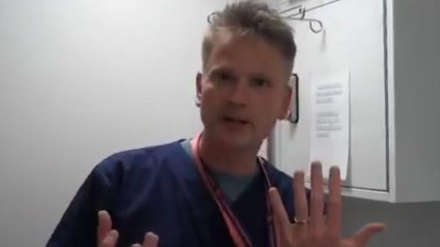 Doctor demonstrates how to effectively remove ring without cutting it off your finger