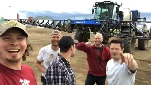Five farmers perform their own rendition of country classic and it goes viral immediatelyothers