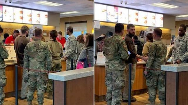 North Carolina man buys Chick-fil-A for servicemen in honor of