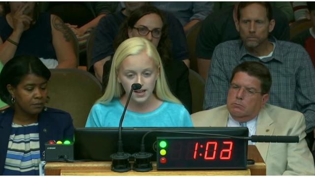 Addison Woosley - Abortion and Slavery - Raleigh City Council NC