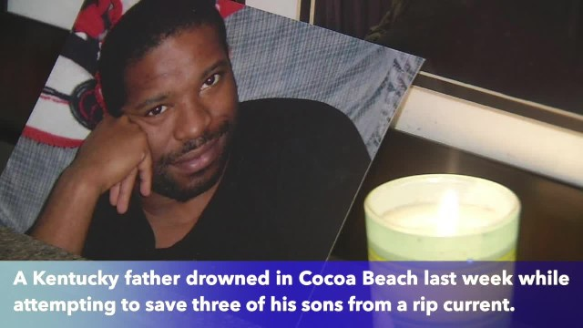 Kentucky man drowns trying to save sons from Florida rip current during family vacation