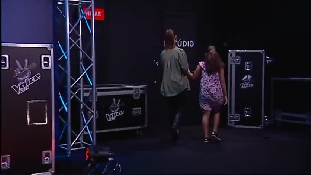 Judges cringe over nervous girl's voice but seconds later they can't spin around fast enough
