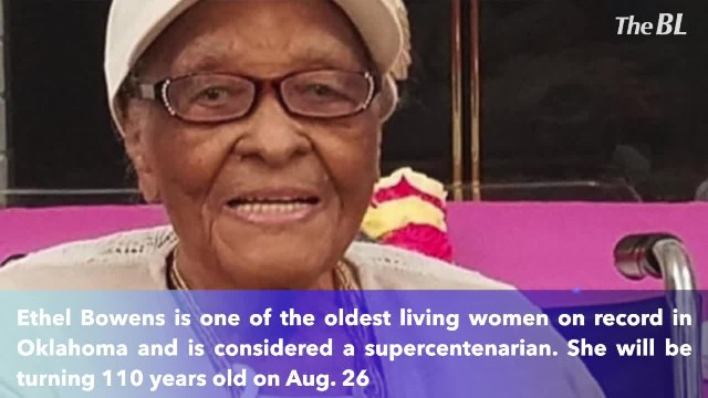 Supercentenarian celebrates 110th birthday and talks about her secret to a long life