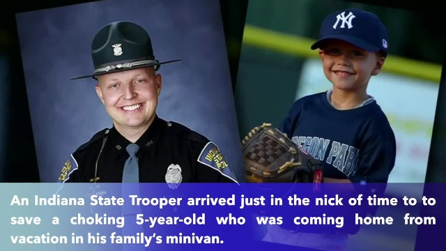 Off-duty ISP trooper responds in 30 seconds to save choking 5-year-old