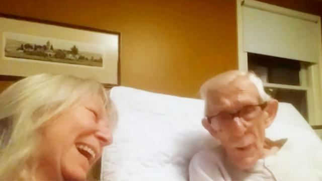 She asked her dad if he had Alzheimer's. His response stuck with me for days