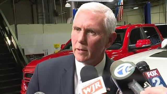 Vice President Mike Pence Talks USMCA in Michigan