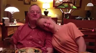 Couple with Down's syndrome who've been married 25 years share unconditional love despite all odds