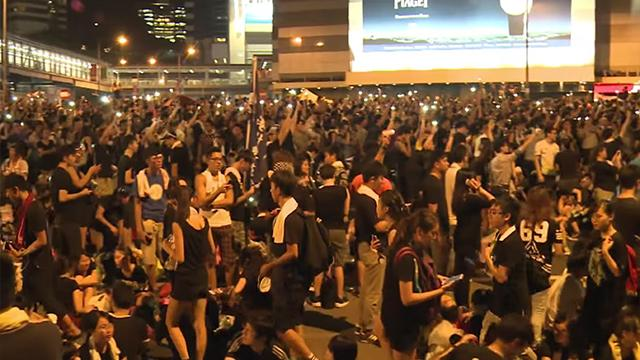 Hong Kong Call on U.S. to Protect the City's Freedoms