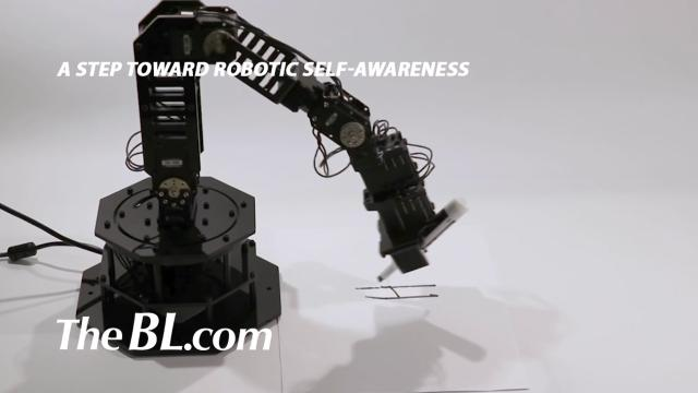 The BL news-A step toward robotic self-awareness