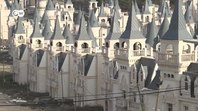 An Entire Village of Miniature Disney-Esque Castles Sits Empty in the Bolu Province of Northern Turk