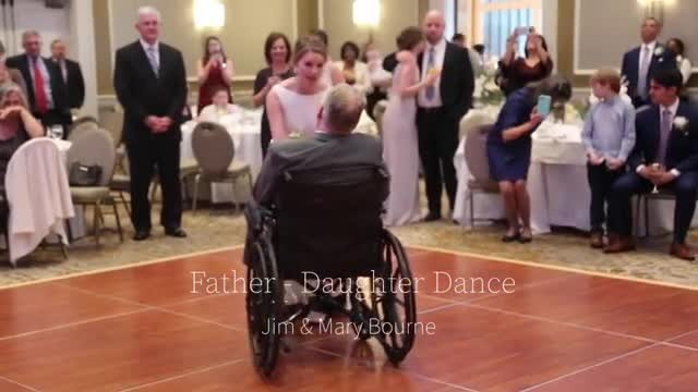 Bride's Wedding Dance With Terminally-Ill Dad Goes Viral