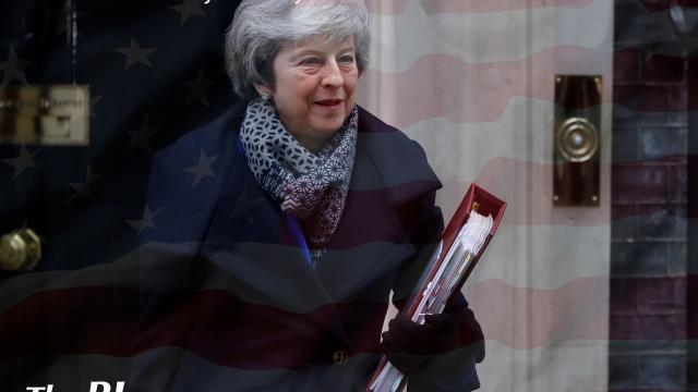 The BL news-British lawmakers rejected May's divorce Brexit deal