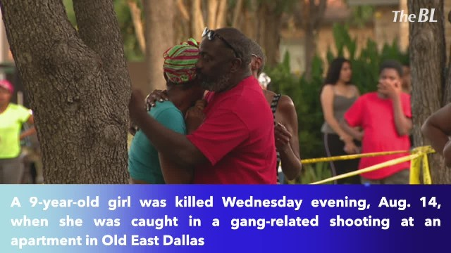 9-year-old girl shot, killed in gang-related shooting in Dallas