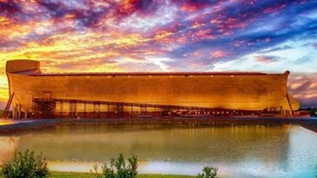 Inside the incredible story behind lifesize replica of Noah's Ark