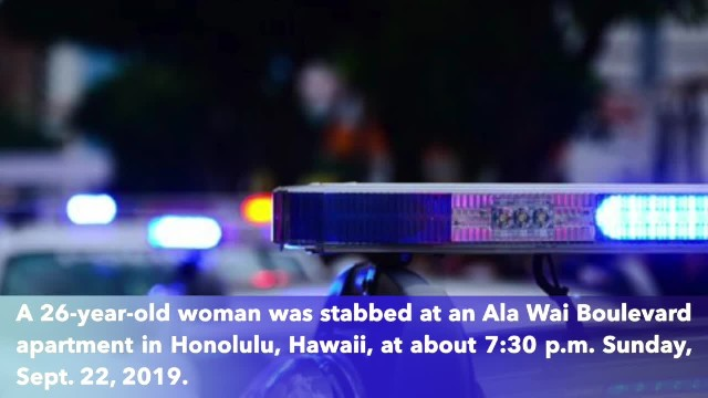 Woman in serious condition after being stabbed in Honolulu