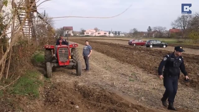 Cars Get Owned By Grumpy Farmer