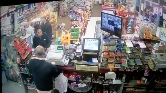Customers See Cashier In Diabetic Emergency & Rush To Save Him.