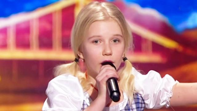 Judges in disbelief at unexpected twist seconds into little girl's audition