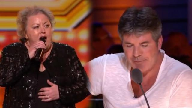 Audience laughs at farmer when she gets on stage until her voice blasts them away