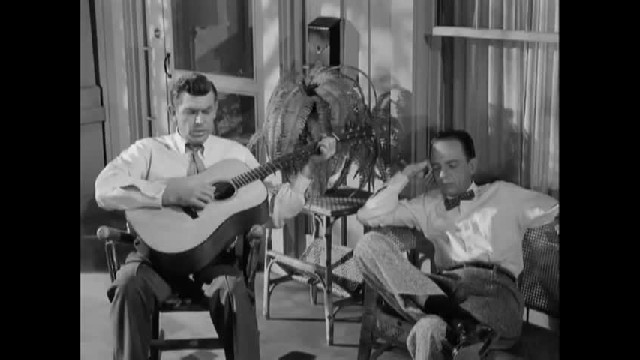 Many say this is the most touching moment in the Andy Griffith show..watch Andy and Barney sing 'Chu