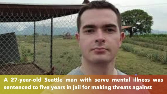 Seattle man sentenced to 5 years for threatening President Trump's family