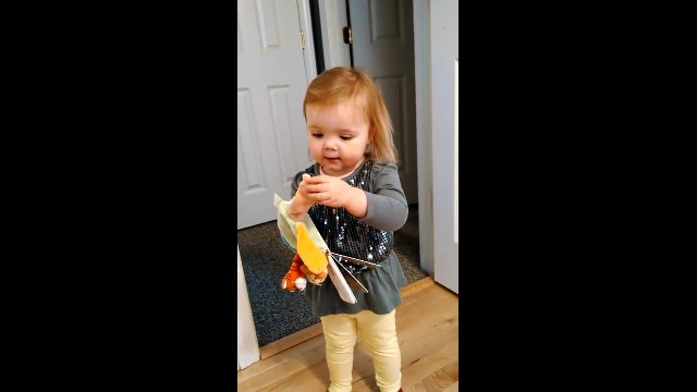 Daddy asked her to sing Old Macdonald, and she gave him a version he will never forget
