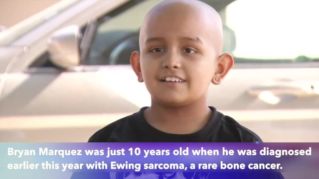 10-year-old boy who lost leg to cancer is now negative for disease, just ahead of Thanksgiving