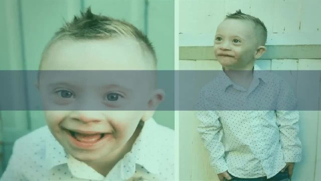 Little boy with Down's syndrome is breaking the internet with his adorable smile and landed a modeli