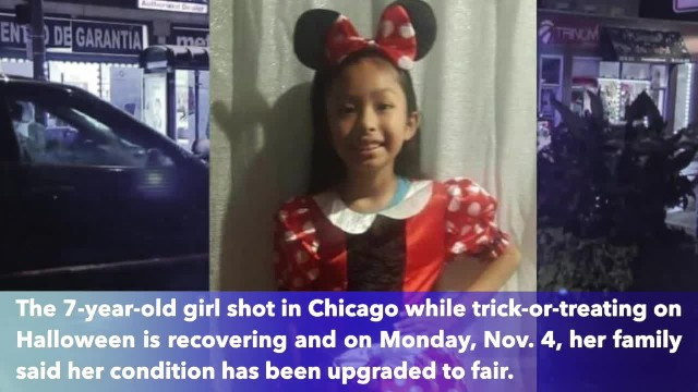 7-year-old girl shot in Chicago while trick-or-treating improving in hospital