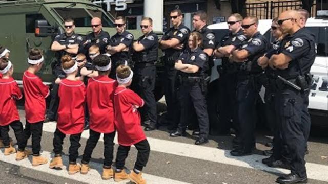 Cops get noise complaint about little dancers – turns into epic 'battle' the town will never forget