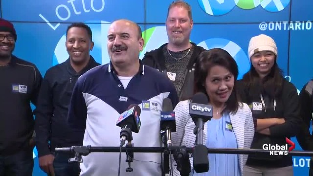 A group of 9 employees win $60 million jackpot—they all resign together!