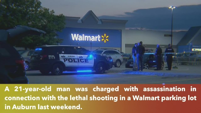 21-year-old charged with murder in Auburn Walmart shooting