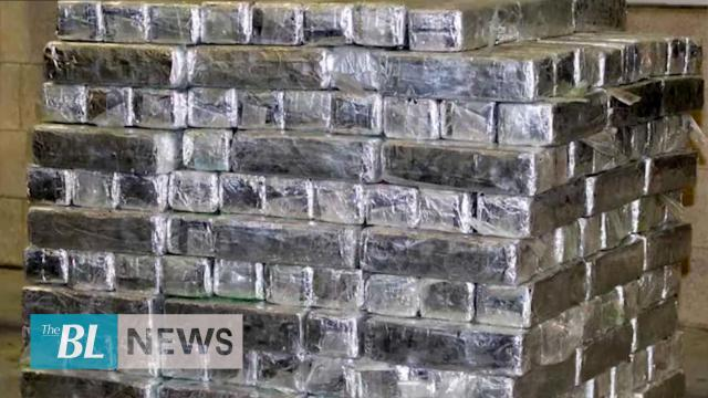 Giant haul of meth at US-Mexico border