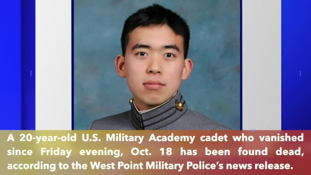 California cadet missing for 4 days found dead