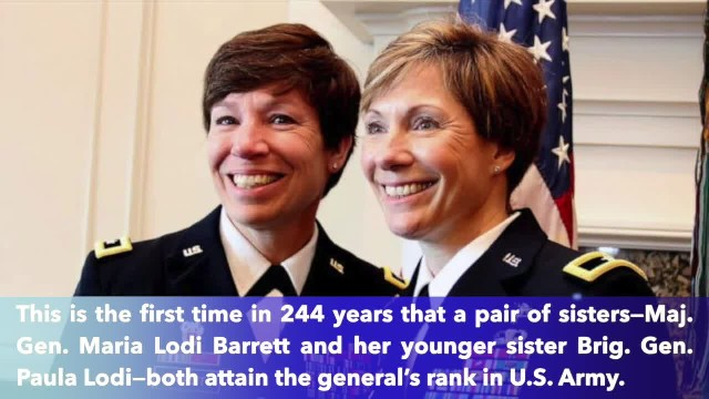 Salute 2 sisters who made Army history as first pair to attain general rank