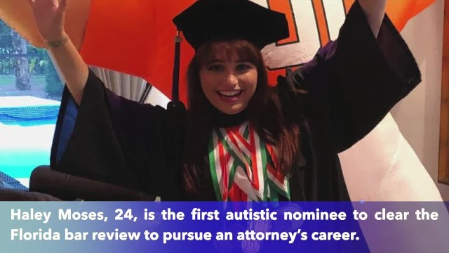 First woman with autism passes the bar and becomes an attorney in Florida