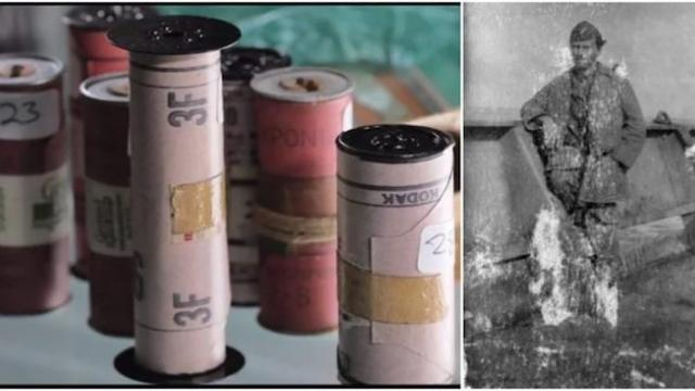 After almost 80 years, 31 rolls of film discovered showing World War II through the lens of an unkno