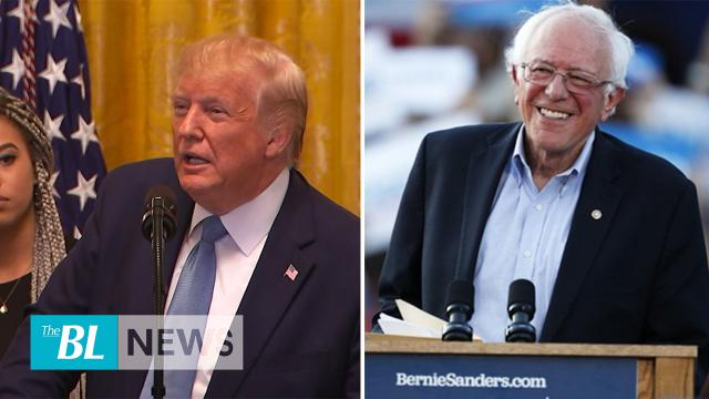 The BL News in 3-Trump addresses Young BlackLeadership Summit - Bernie Sanders Suffers Heart Attack