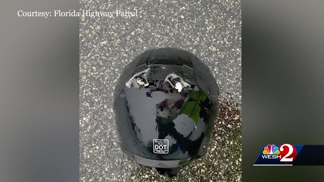 Motorcyclist dies after being struck by lightning in Florida