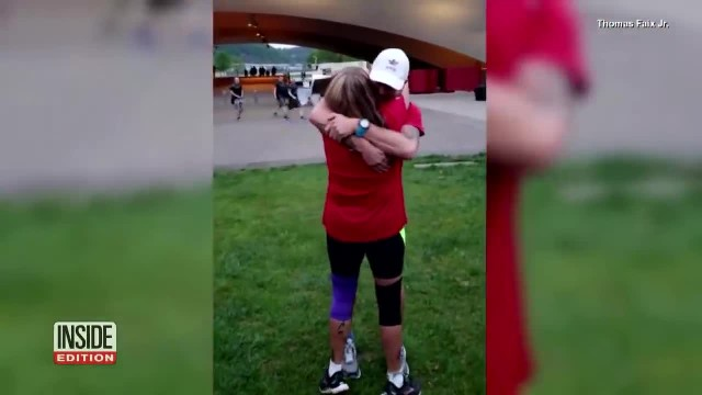 Man Meets Biological Mom Before Pittsburgh Marathon