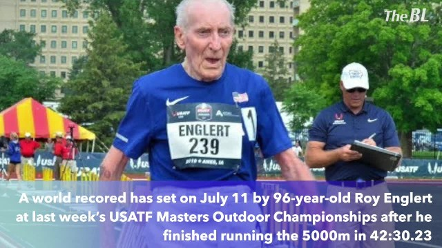 96-year-old Roy Englert runs 42-minute 5K to shatter age-group world record